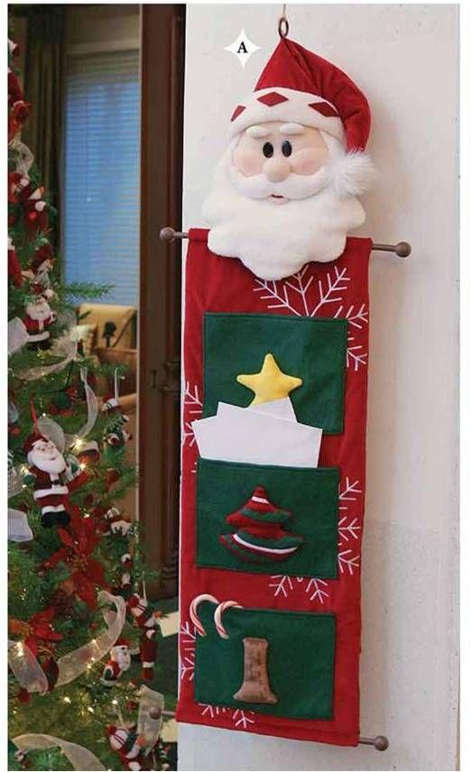 Navidad en fieltro 2008 christmas decoration e - Decoracion navidena fieltro ...