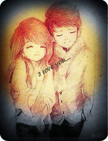Hd Wallpaper Romantic Cute Cartoon Couple Dp For Whatsapp