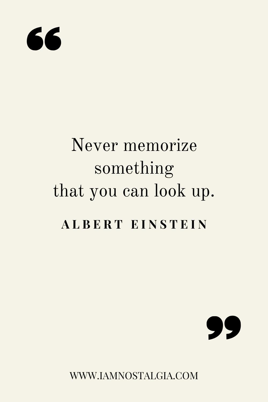 Quote On Memory Albert Einstein Einstein Quotes Memories Quotes Einstein