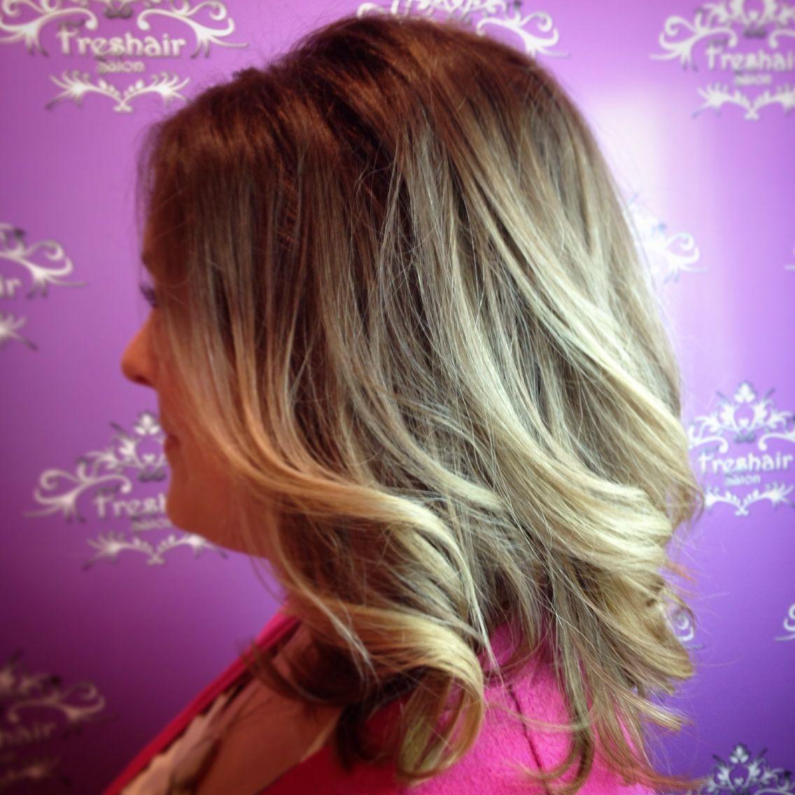 Blonde Ombr Stylist Kenzie Ferguson Freshairsalon