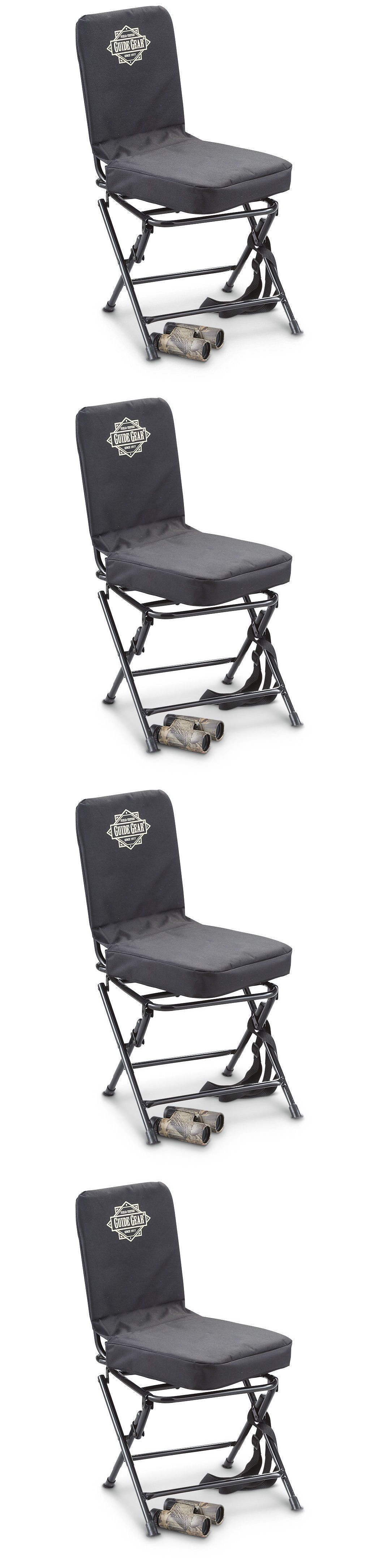 Seats and Chairs Portable Swivel Hunting Chair Folding Deer