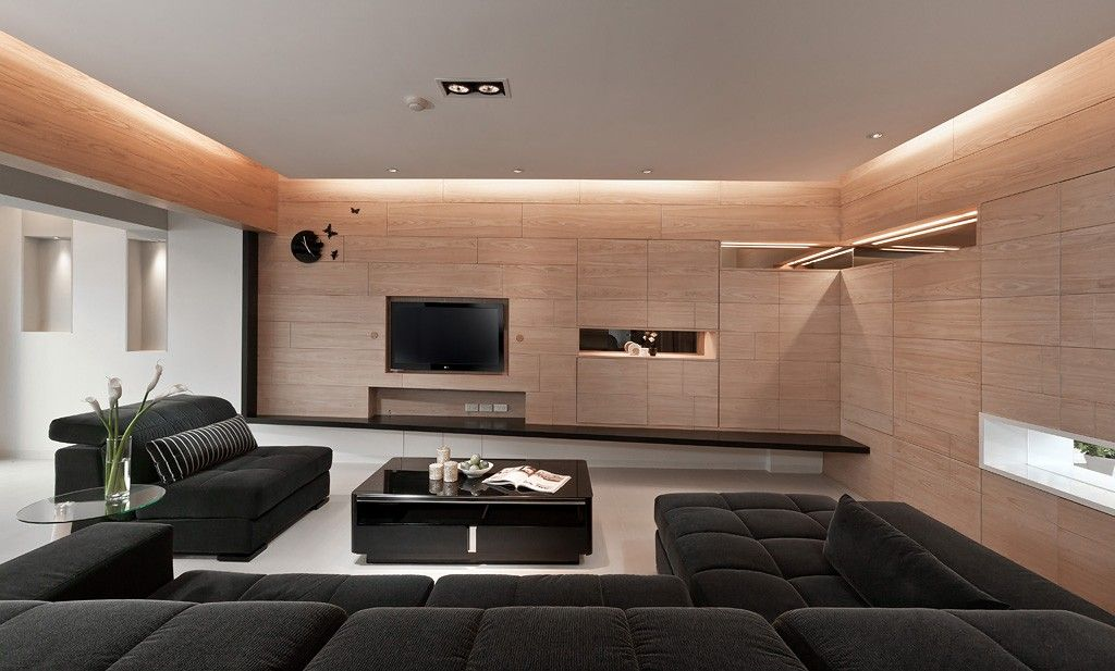 4 sleek interiors where wood takes center stage http www difthehome