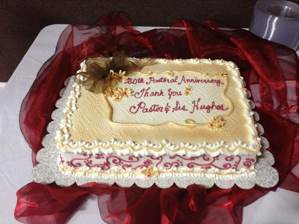 For Our Pastor And First Lady S 20th Pastoral Anniversary Pastor