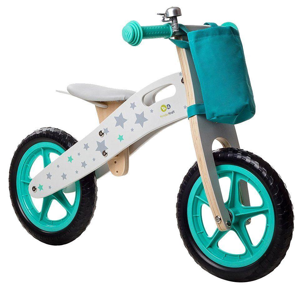 capture grand choix de profiter de prix discount Draisienne Runner STARS vélo vert en bois sans pédales ...