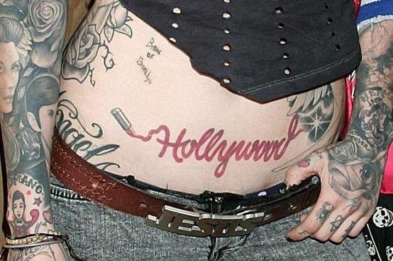 Kat Von D S Hollywood Tattoo Kat Von D Tattoos Kat Von D Kat Von