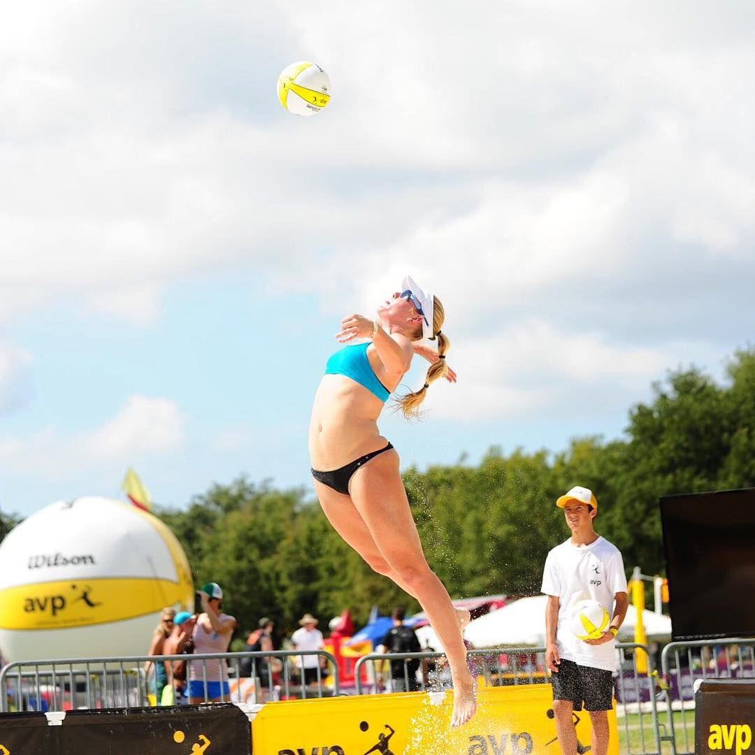 Avp Pro Beach Volleyball Tour On Instagram Happy 26th Birthday To Sarah Day Beach Volleyball Happy 26th Birthday Sarah Day