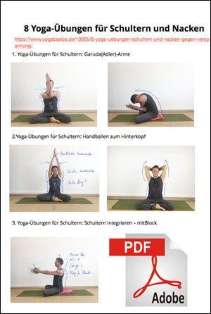 Diese 8 Yoga-Übungen für Schultern und Nacken helfen bei Verspannung ...