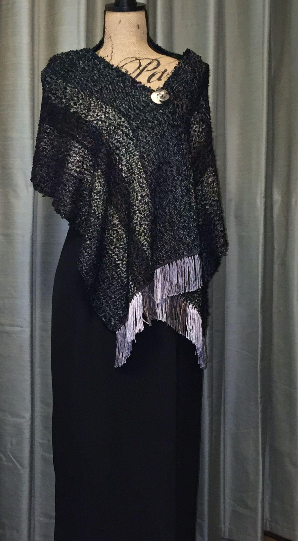 Silk and rayon wrap