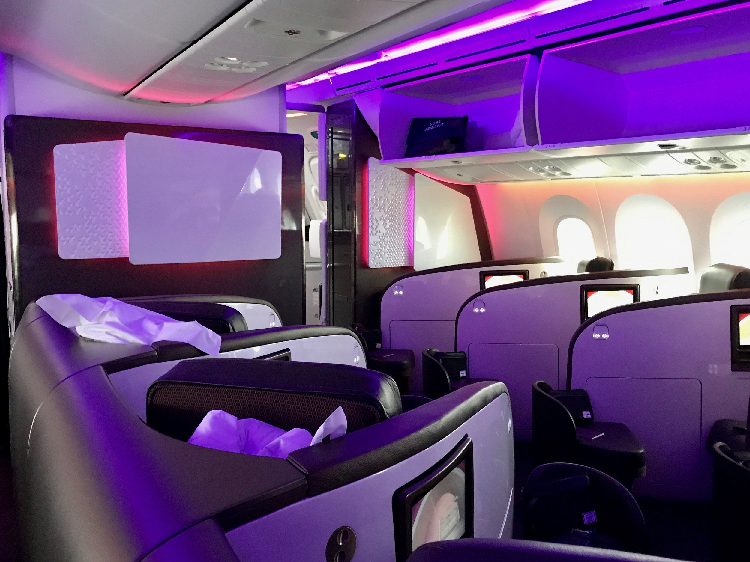 Review Virgin Atlantic 787 Upper Class London to New York