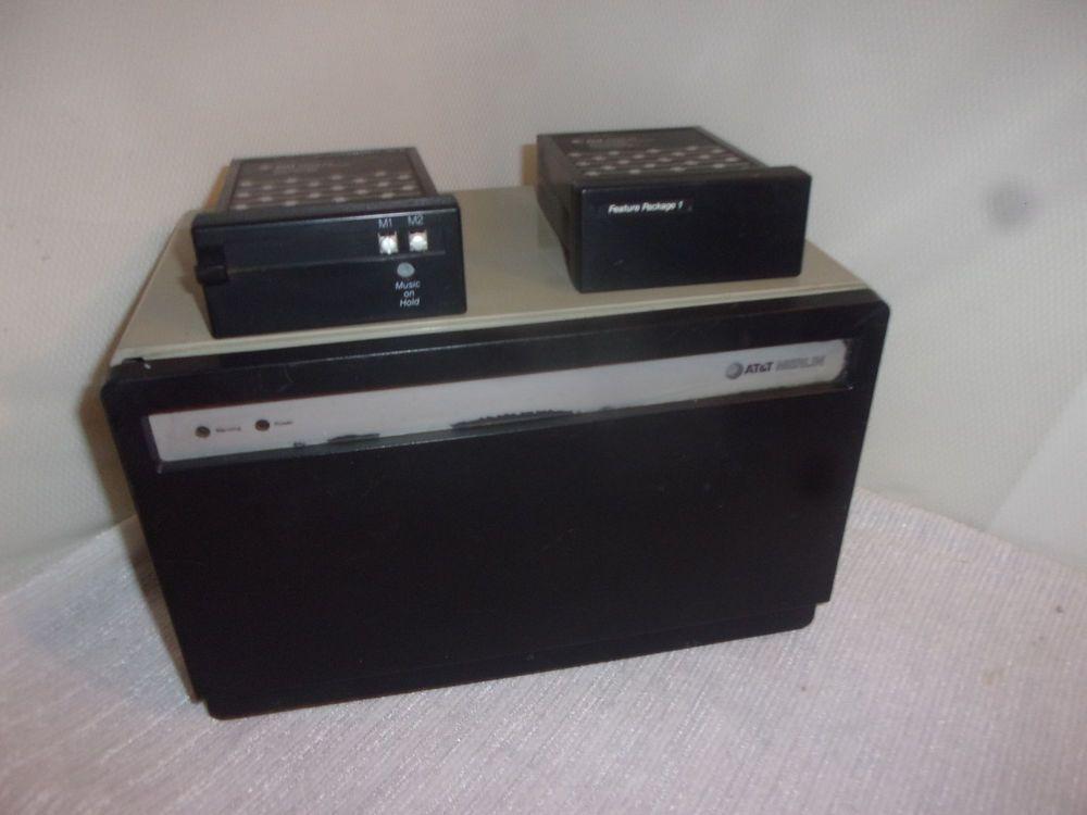 At U0026t Merlin Model 410 Phone Control Unit Plus Two