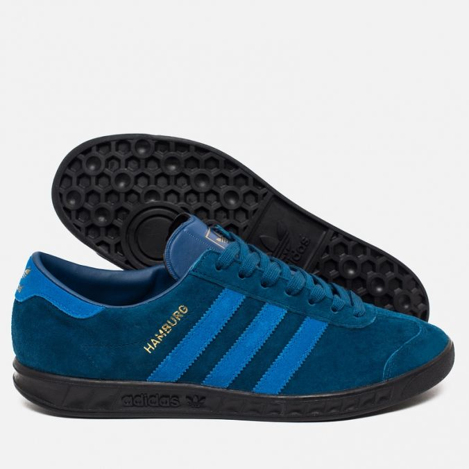 Кроссовки adidas Originals Hamburg Blue/Black AQ4733