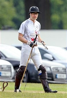 Prince William, Duke of Cambridge attends day 2 of the Audi Polo Challenge at Coworth Park on May 31, 2015 in Ascot, England.