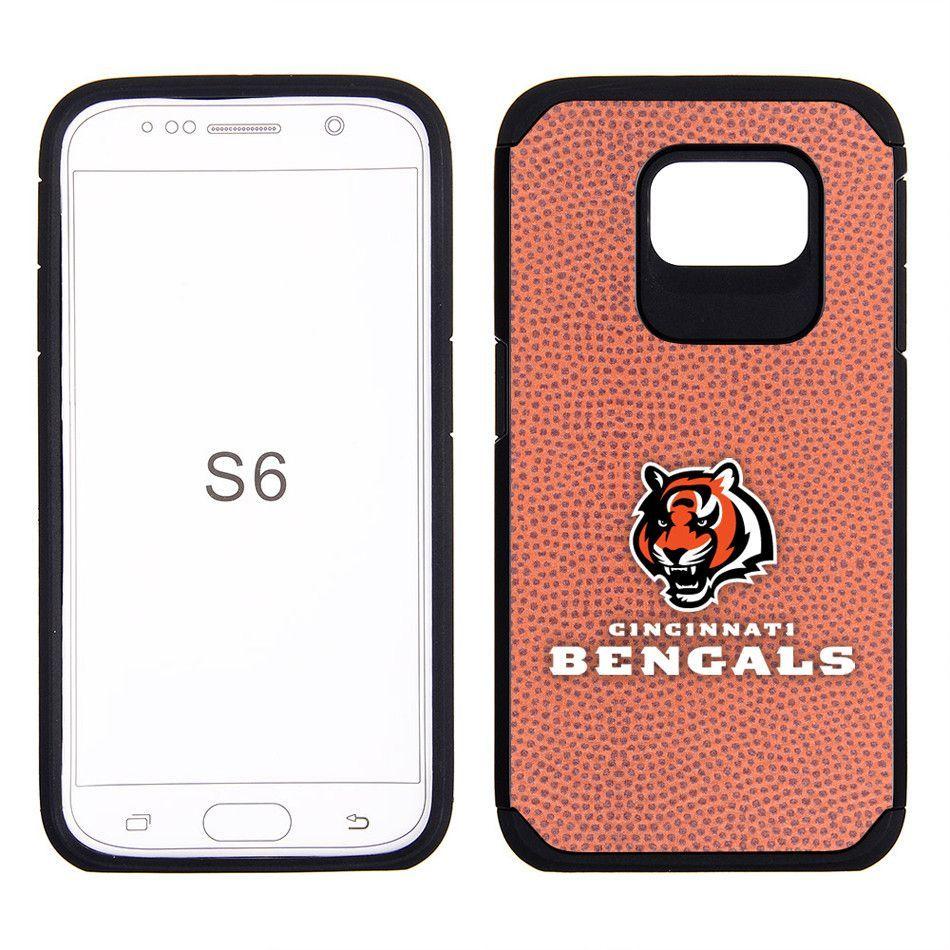 Cincinnati Bengals Galaxy S6 Football Texture Cell Phone Case