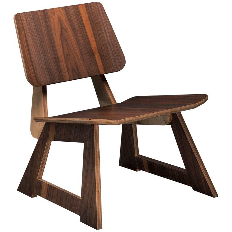 Enjoyable Mafoo Lounge Chair Walnut Veneered Plywood Handmade By Lee Andrewgaddart Wooden Chair Designs For Living Room Andrewgaddartcom