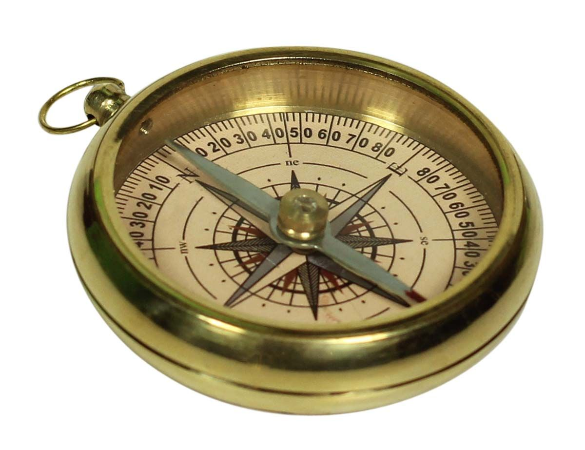 Magnetic Compass In Brass 2 Nautical Device With Imprint Of Dolland London Vintage Look Collectibles Gi Magnetic Compass Vintage London Gift Collections