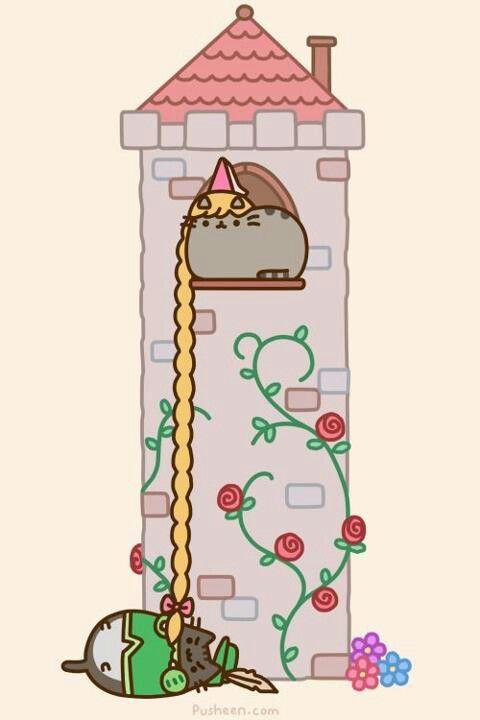 Rapunzel Pusheen.