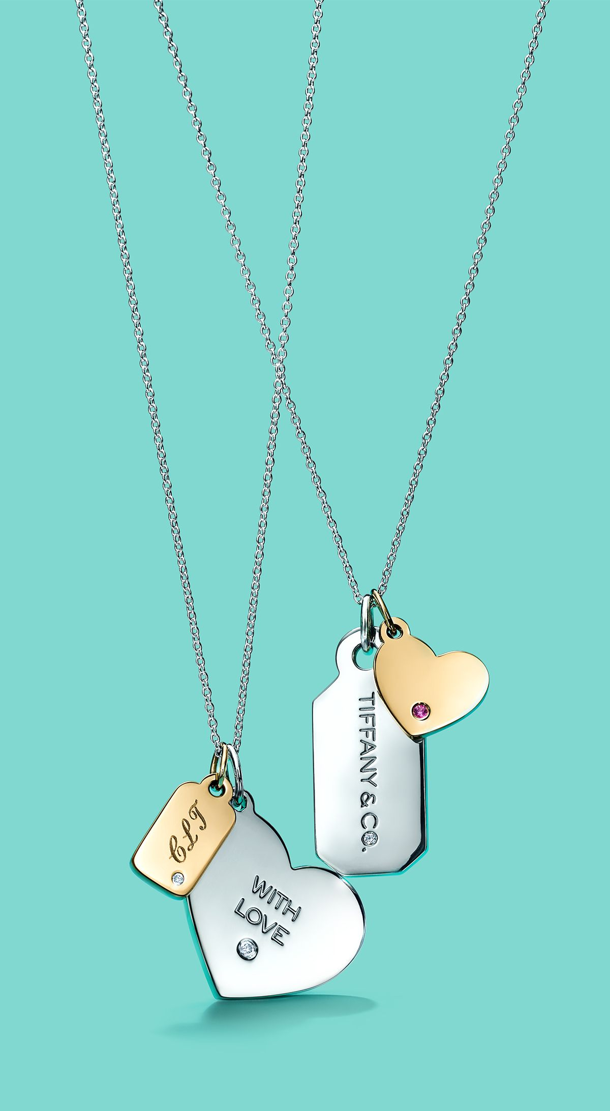 0ae3499a841d Customize a thoughtful new Tiffany Charms tag they ll cherish forever. Tiffany  And Co