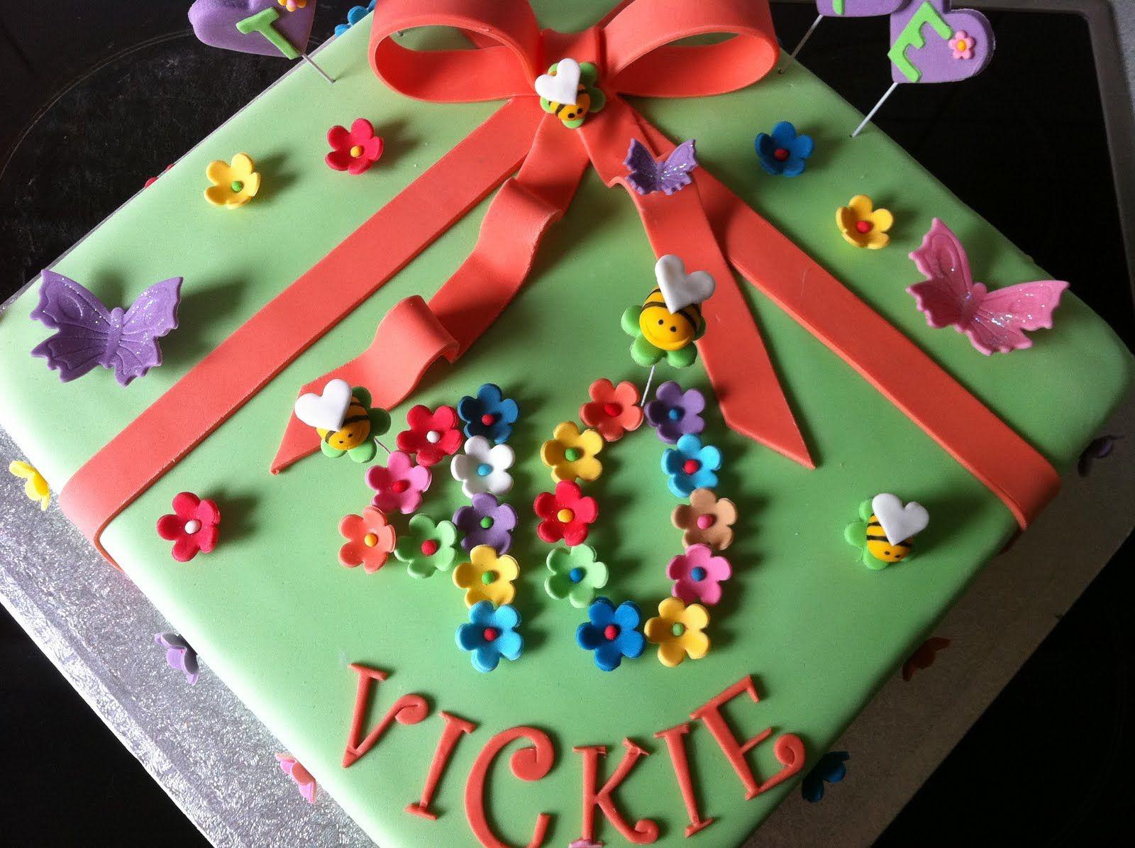 Happy Birthday Vicki Hollys Cakes Happy Birthday Vickie Vickie