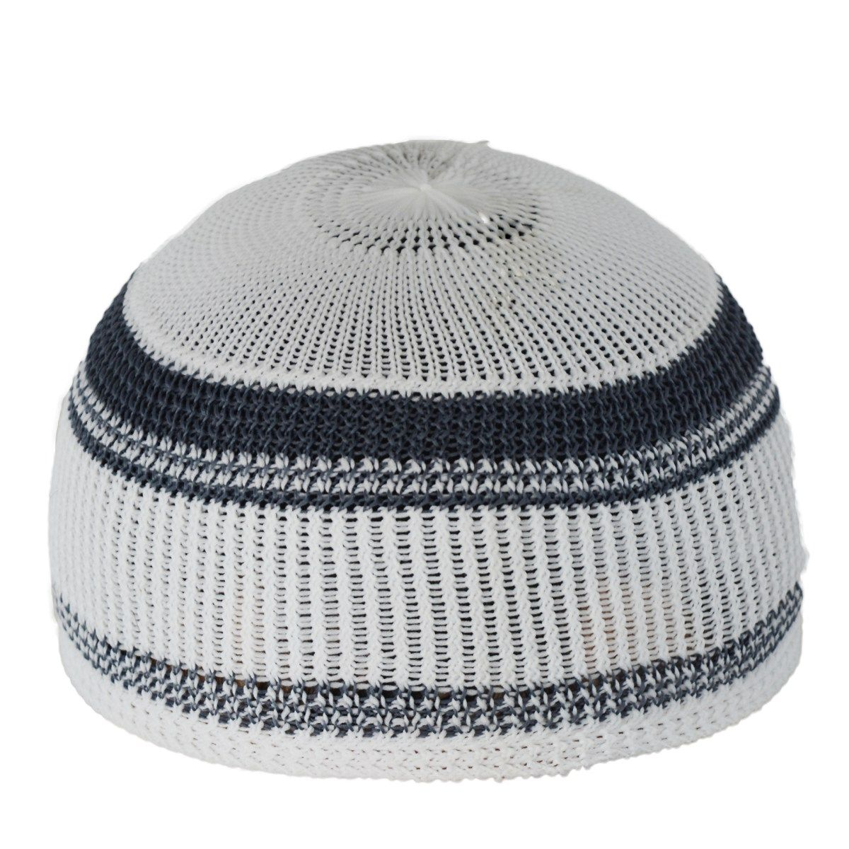 Knitted kufi with thin solid color lines me717 islamic knitted kufi with thin solid color lines me717 bankloansurffo Choice Image