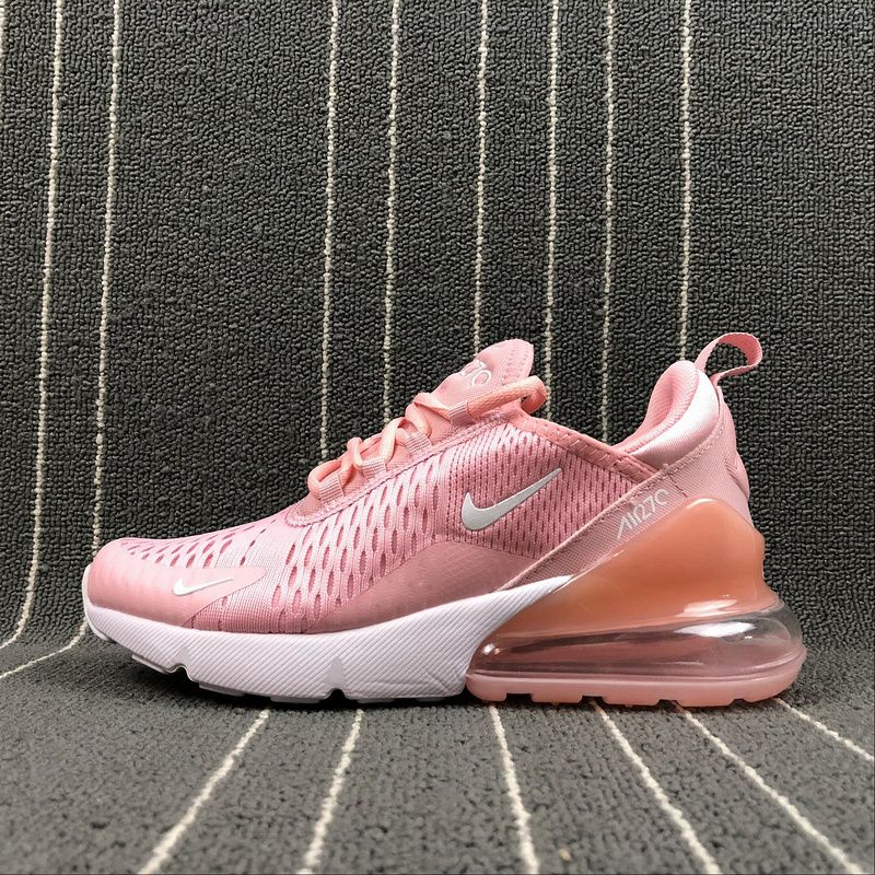 a1f8b883c90 Spring Summer 2018 New Nike Air Max 270 Latest Styles Running Shoes 2018  Flyknit Pink AH8050-610