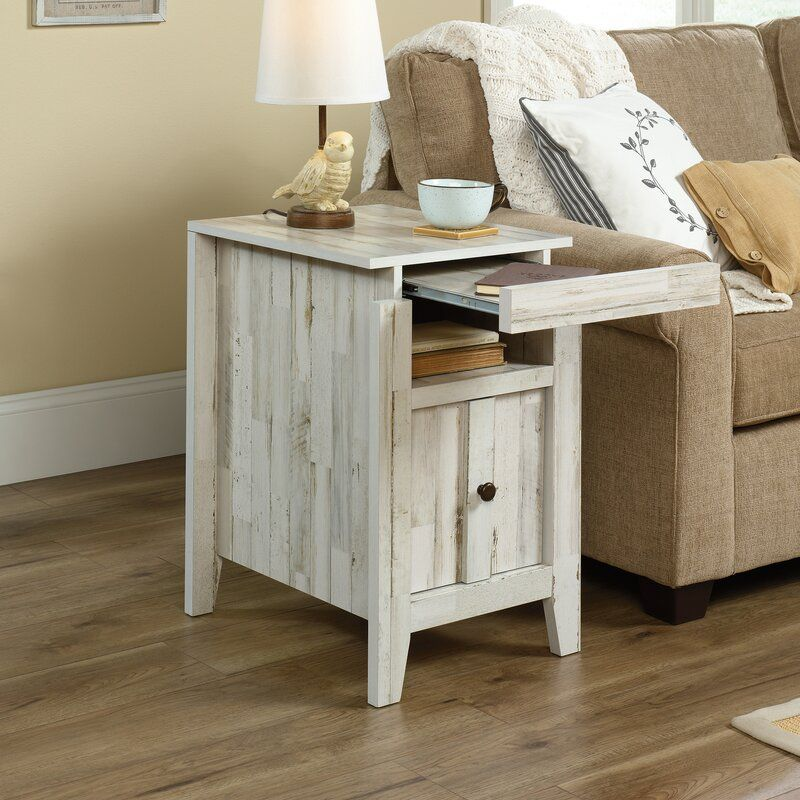 Riddleville End Table With Storage in 2020 End tables