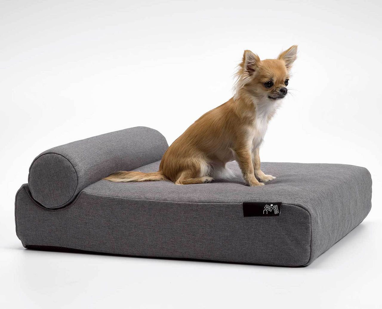 A Dog S Day In Gray Design Milk In 2020 Modern Pet Furniture