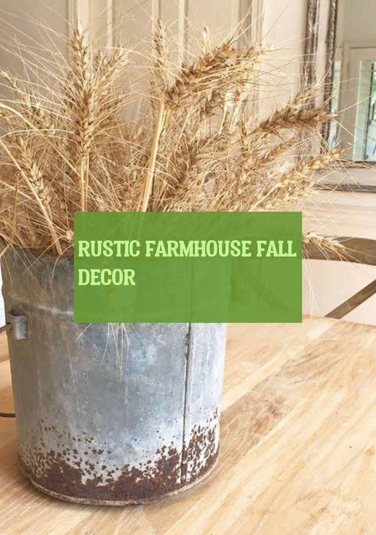 rustic farmhouse fall decor
