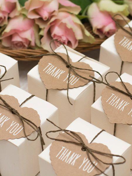 Favores de la boda: las ideas de bricolaje más bellas DELICIOSO