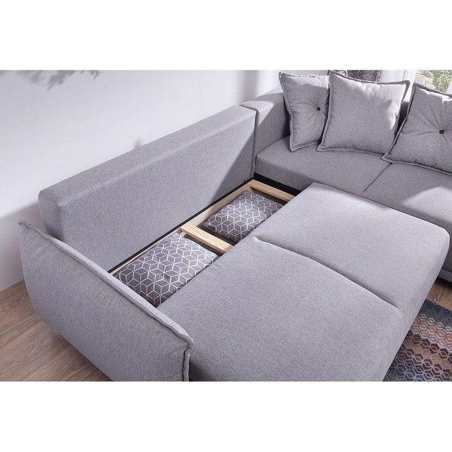 Canape Scandinave D Angle Droit Lena Salon Sofa