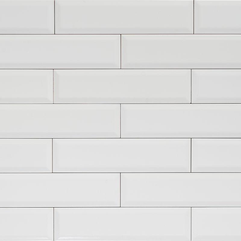 Subway - Bevelled Long Gloss White Tile 300×75 | Ensuite ideas ...
