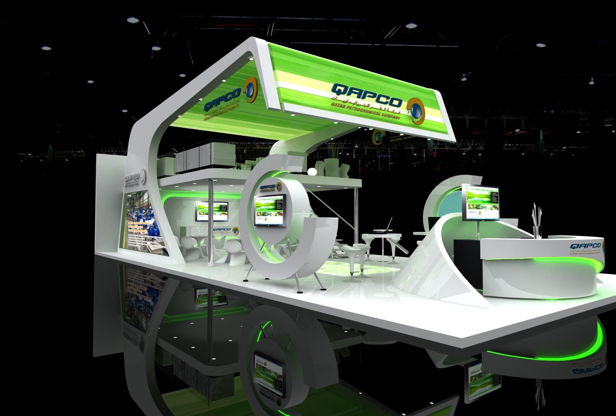 D Exhibition Designer Jobs In Qatar : Op exhibition stands design qapco qatar rates gt http