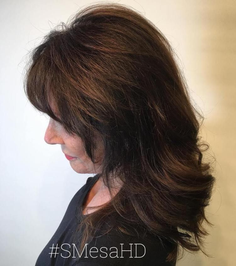 80 Best Modern Haircuts And Hairstyles For Women Over 50 Medium