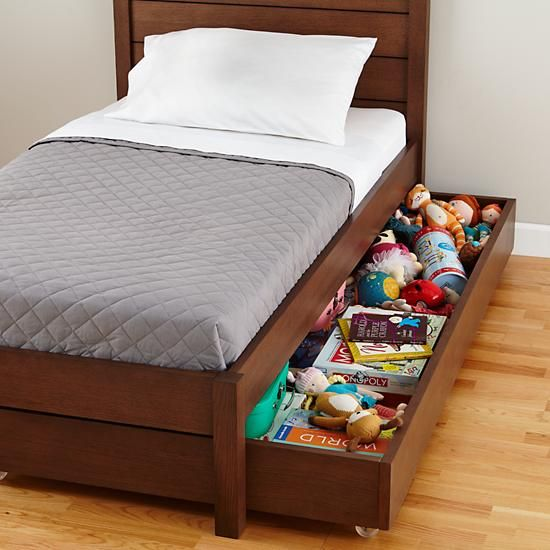 Uptown Trundle Bed (Brown)  | The Land of Nod