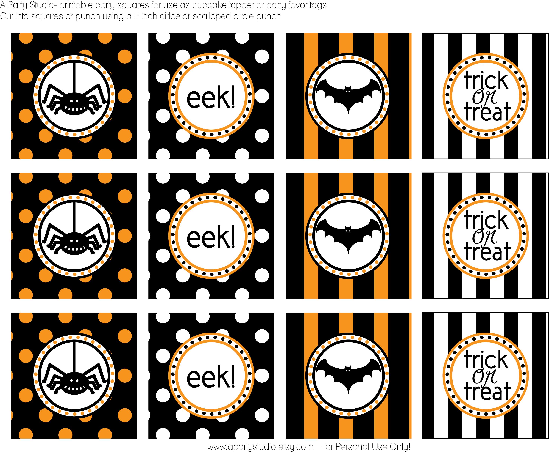 Free Halloween Printable Labels