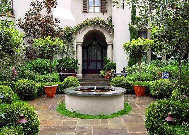 Top 10 Mediterranean Garden Designs Garden Styles Mediterranean