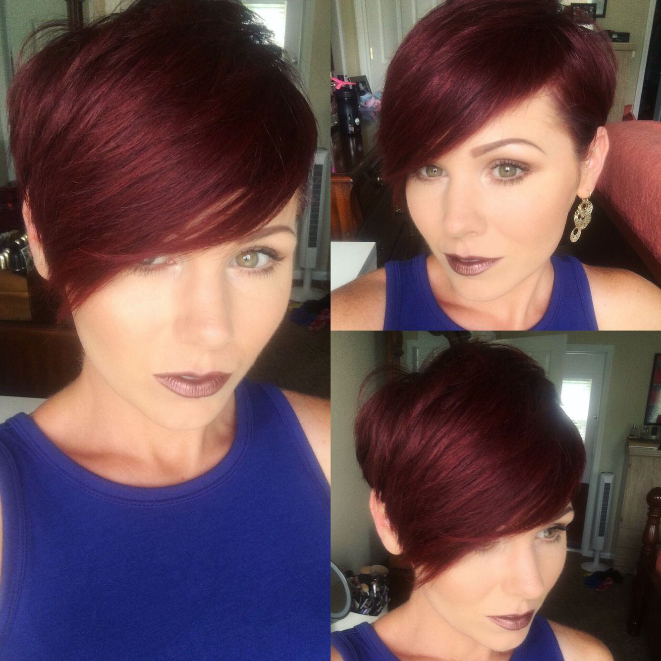 Redhair pixie new haircut pinterest pixies and short hair