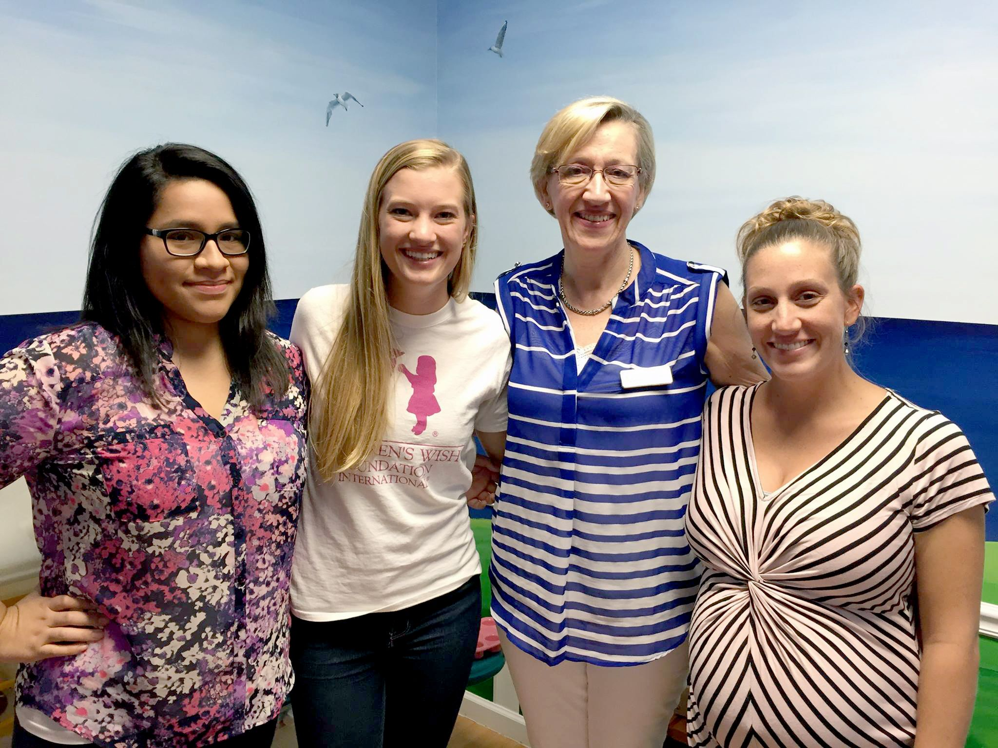 A Visit with POST Pediatric Oncology Support Children's