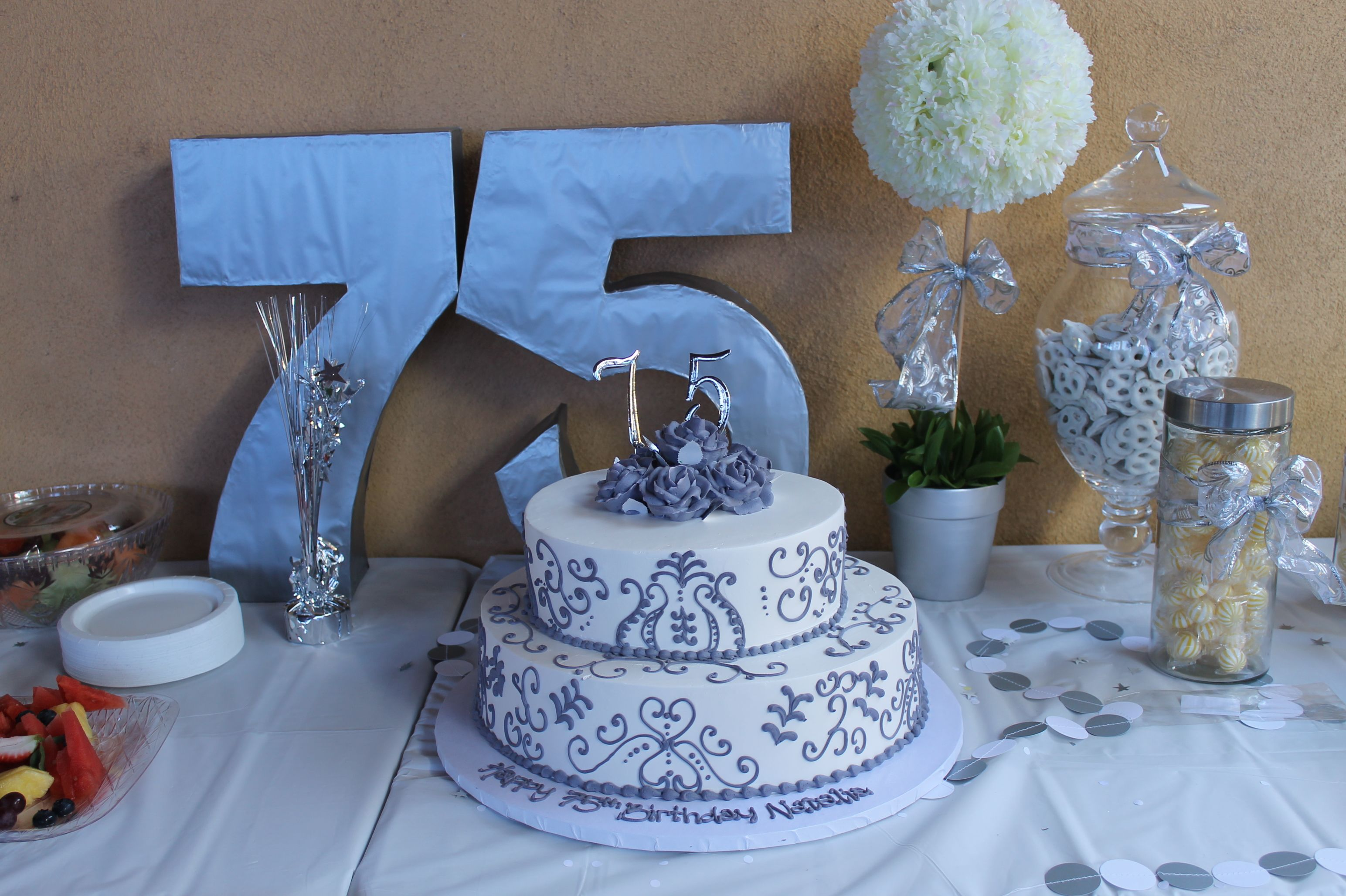 Th Birthday Party Ideas More Cake Adult Mom Also Grandma Parties Rh