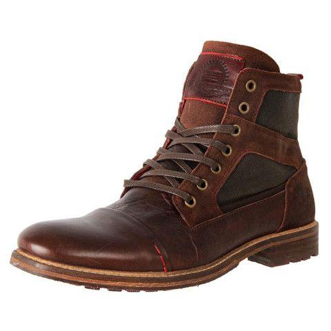 european men's smart casual leather ankle boot dalton