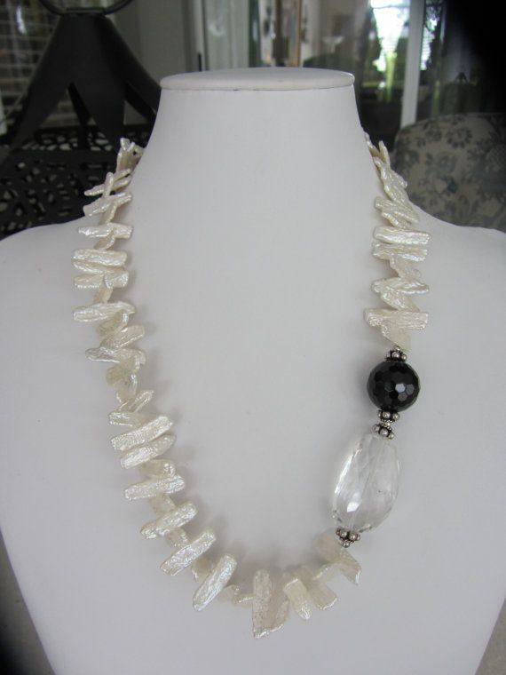 Unique Custom Designed Freshwater Stick Pearls by JKCustomDesigns, $80.00