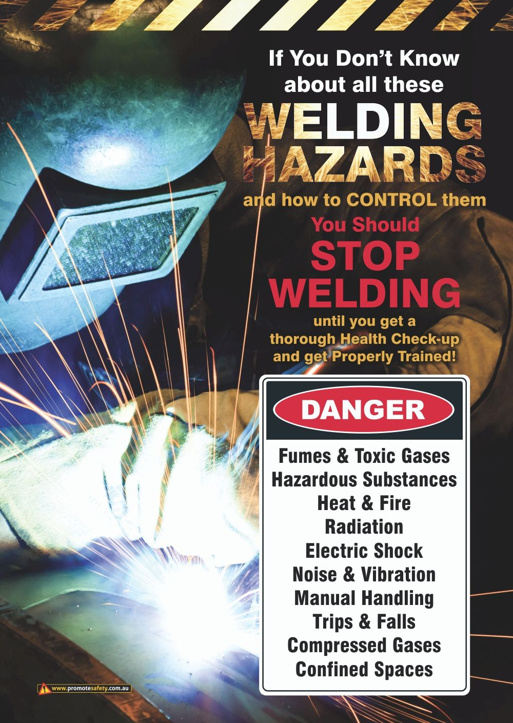 This A3 size Workplace Safety Poster is aimed at helping