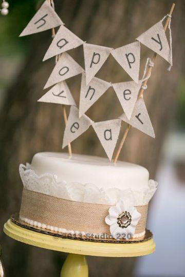 One Year Anniversary Cake 1st Wedding Anniversary 1st Wedding