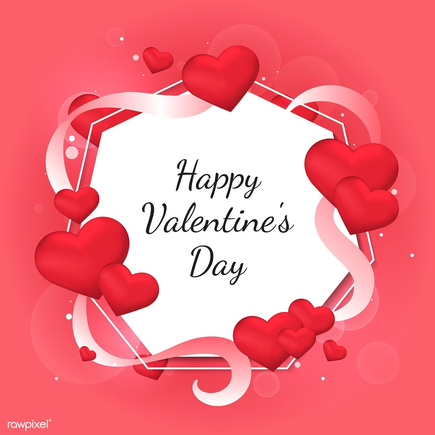 Valentine S Day Vector Design Concept Free Image By Rawpixel Com Sasi Happy Valentines Day Images Happy Valentines Day Pictures Valentines Day Clipart