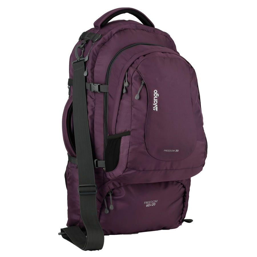 Vango Freedom Travel Backpack | Purple | Buy Online | Clothes ...