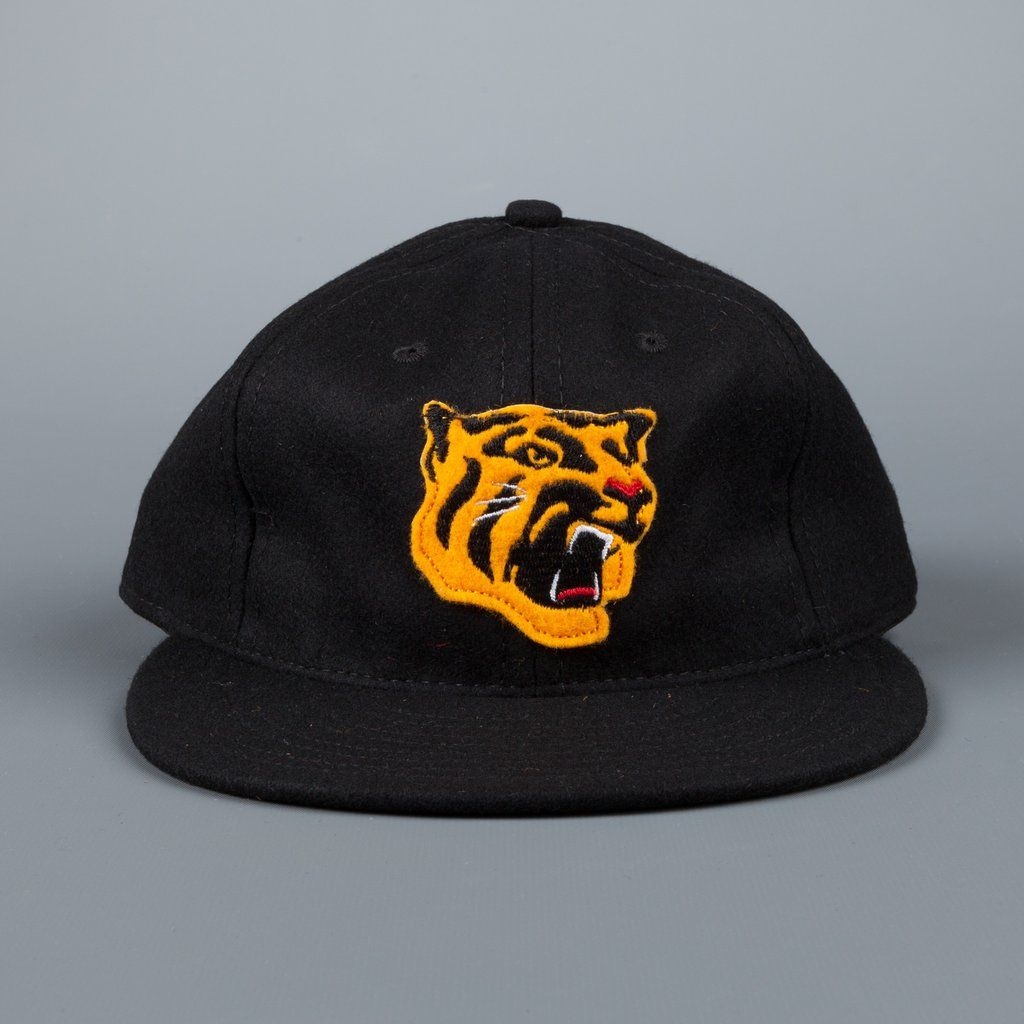 53af86346 Ebbets field flannels Osaka Tigers 1965 6 panel strap back cap black ...