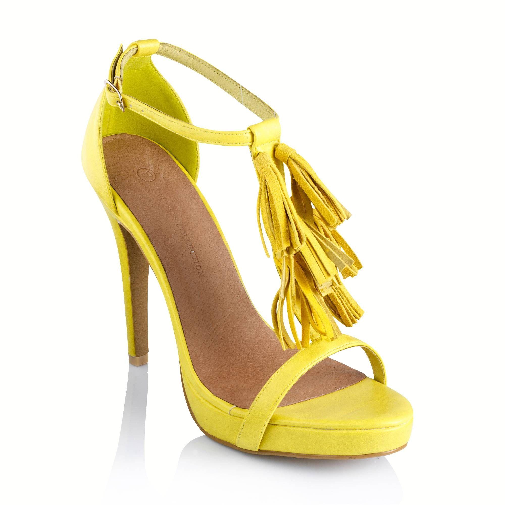 sandales talon aiguille à pompons frangés femme - 3 suisses | idèe