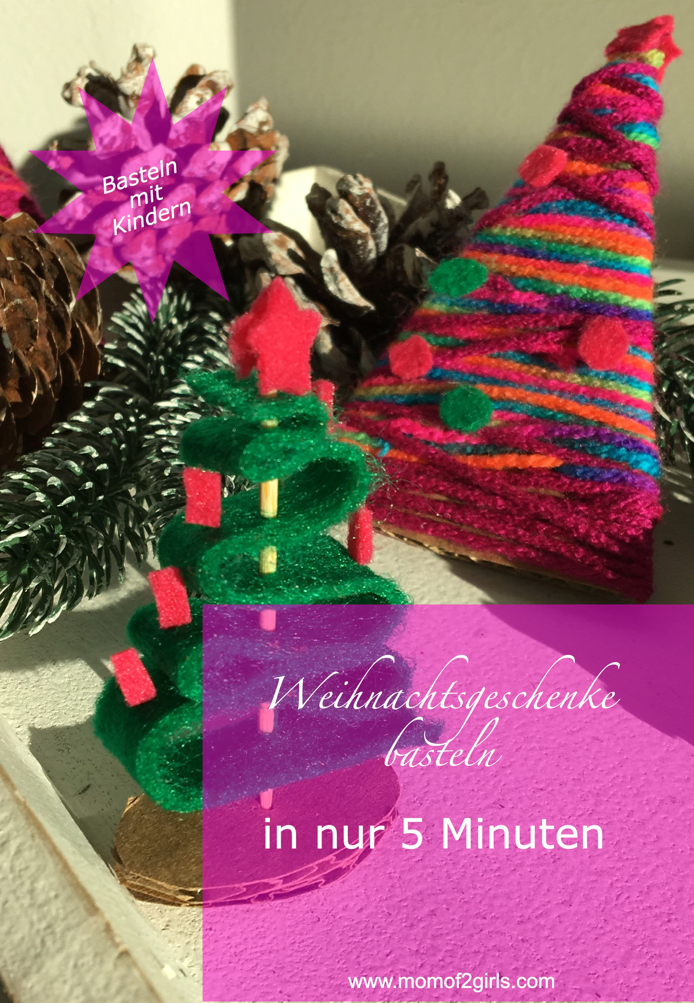 diy weihnachtsgeschenke selber basteln | mom of 2 girls-unser leben