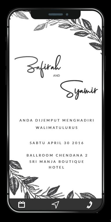 Envite Kad Jemputan Digital Kad Kahwin Design Kad Kahwin Design