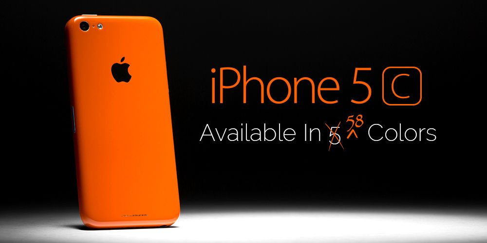 It's here! Get a custom iPhone 5c today at ColorWare! | Tech