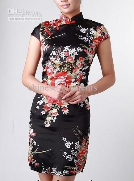Chinese classical dress cheongsam outfit knitting flexibly self-cultivation cake Qipao dress QP228